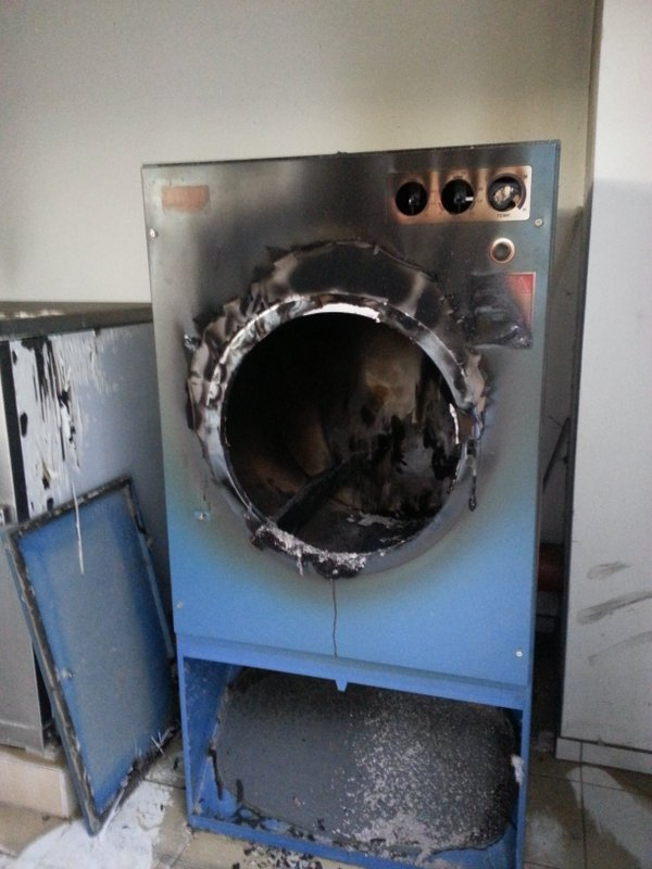 Fire clothes dryer