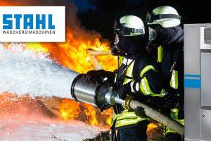 Feuerwehren und Rettungsdienste informieren sich über Wäschereitechnik