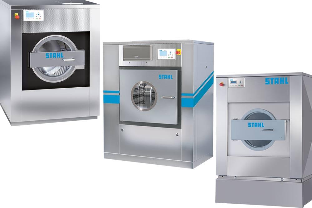 Hochtourige Industriewaschmaschine ATOLL - Mitteltourige-Industriewaschmaschine WS - Durchlade-Industriewaschmaschine DIVIMAT