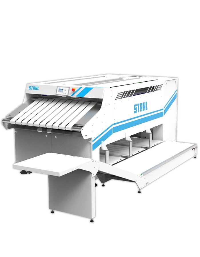 Wäsche-Faltmaschine