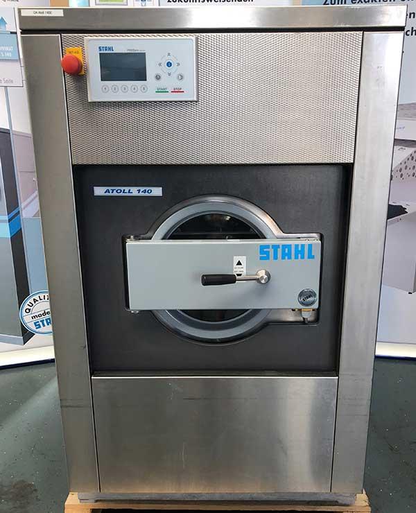 STAHL Wäschereimaschinen | Maschinen Shop | Gebraucht ATOLL 140 E | Ansicht: vorne