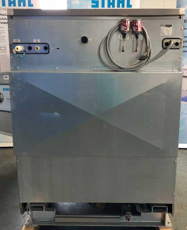 STAHL Wäschereimaschinen | Maschinen Shop | Messemaschine ATOLL 350 D | Ansicht: hinten