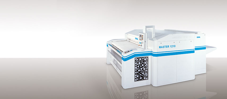 BOULEVARD ironing line from STAHL Laundry Machines