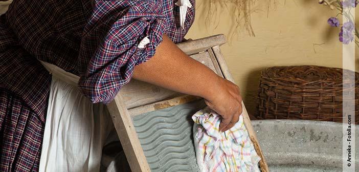 STAHL Wäschereimaschinen Wäsche waschen früher