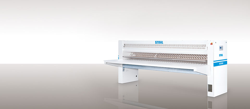 Folding machine from STAHL Laundry Machines