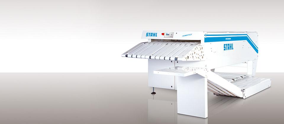 Frottee Faltmaschine von STAHL Wäschereimaschinen