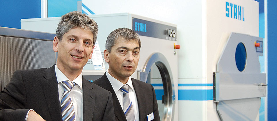 Commercial laundry technology trade fairs with STAHL Laundry Machines