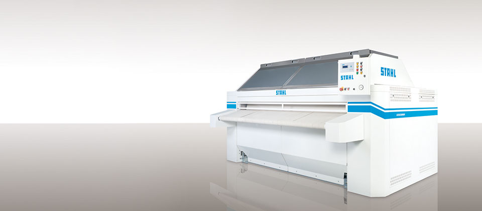 Ironer line from STAHL Laundry Machines