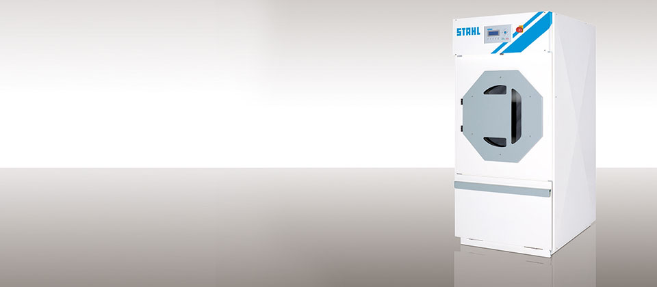 Hot water laundry drier from STAHL Laundry Machines