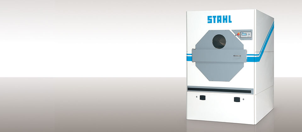 Efficiency drier from STAHL Laundry Machines